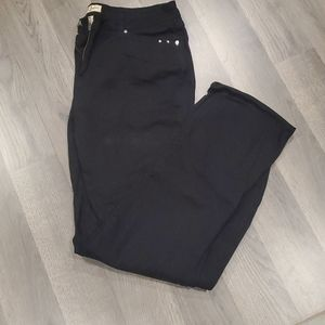 Earl Jean embellished black jeans